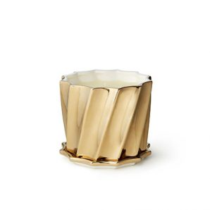 Aerin Gold Fluted Scented Candle