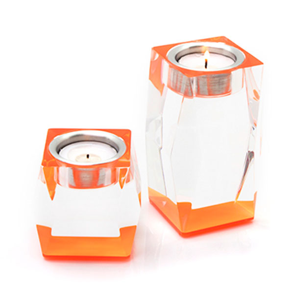 Alexandra Von Furstenberg Votives Orange Candleholder