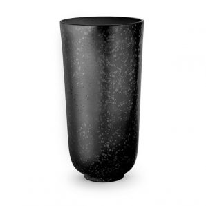 L'Objet Alchimie Large Vase in black