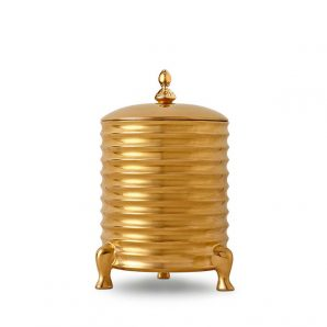 L'Objet Han Canister Candle Gold 3 Wick
