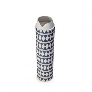 L'Objet Tribal Diamond Collar Vase X-Large