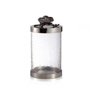 Michael Aram Black Orchid Canister Medium