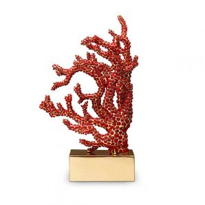 L'Objet Coral Bookend