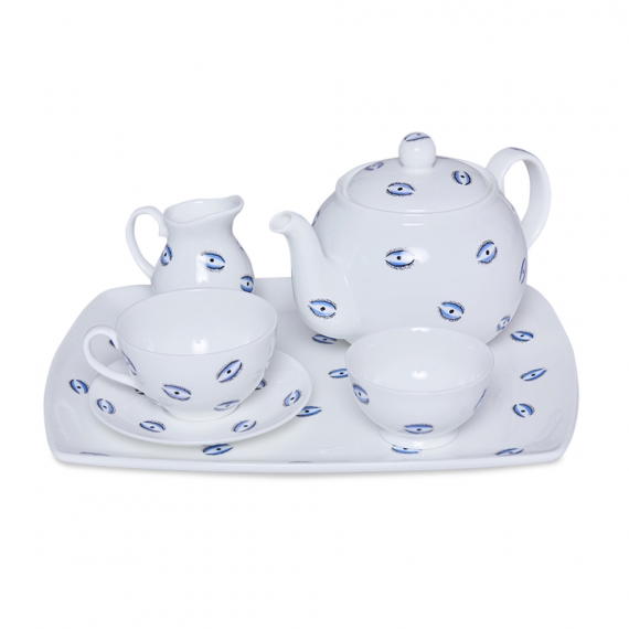 Casacarta Evil Eye Tea Set