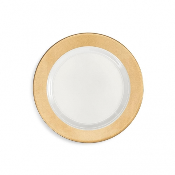 Q Squared Moonbeam Ring Melamine Salad Plate