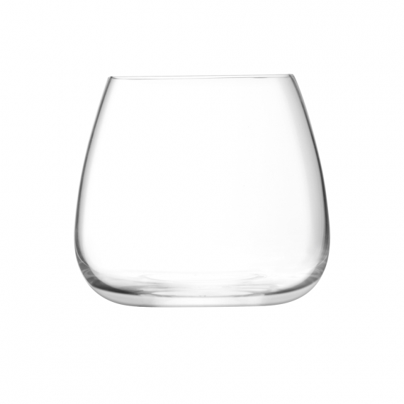 LSA International Wine Culture Stemless Wine Glass Set Of 2