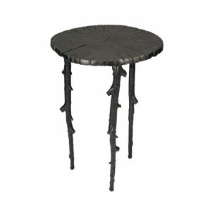 MICHAEL ARAM Enchanted Forest Side Table Oxidized