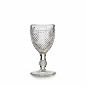 Bicos Set With 4 Red Wine Goblets