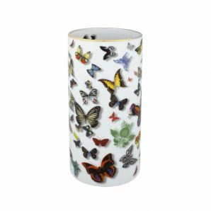 Butterfly Parade Vase