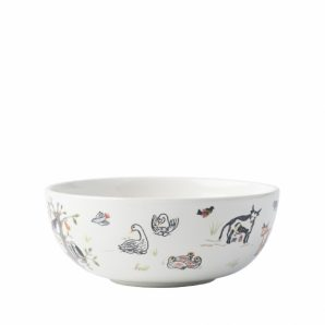 JULISKA Twelve Days Of Christmas Cereal and Ice Cream Bowl Set Of 4
