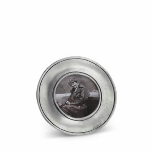 MATCH PEWTER Lombardia Round Frame