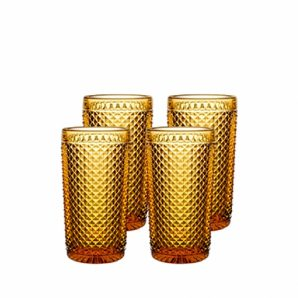 VISTA ALEGRE Bicos Set With 4 Highballs