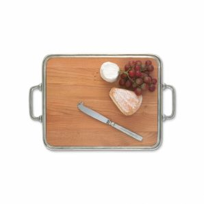 MATCH PEWTER Cheese Tray with Handles