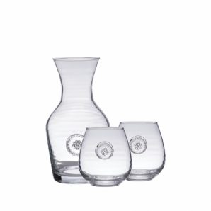 JULISKA Berry and Thread Carafe and Red Wine Gift Set