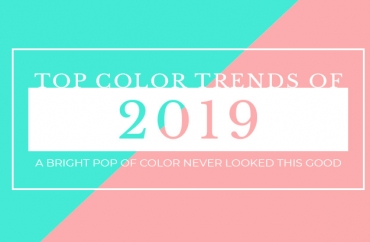 2019 Color Trends: Top 10 Colors That Are Huge This Year