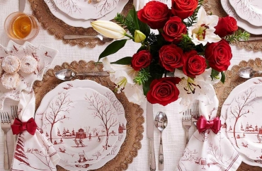 Elegant Ideas to Create the Perfect Christmas Dinner Table Setting
