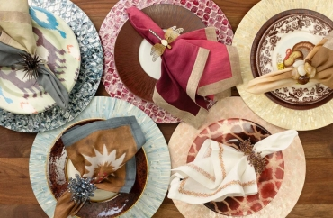 10 Beautiful Pieces to Adorn Your Table from Kim Seybert