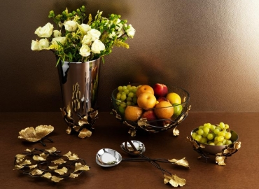 Introducing the Michael Aram Golden Ginkgo Collection