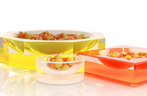 Halloween Candy Bowls: Lux Home Decor for a Glam Halloween