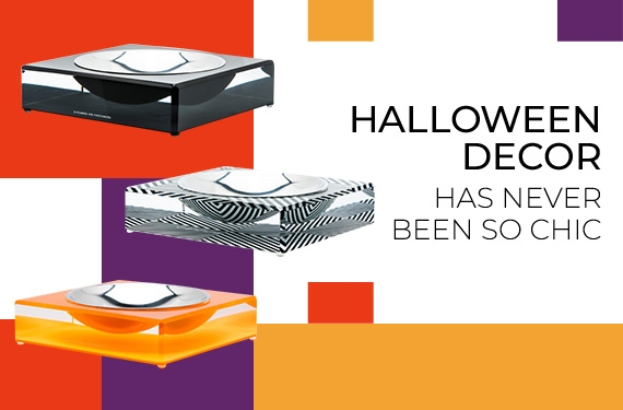 Spruce Up The Spookiest Holiday with The Most Glamorous Designer Halloween Candy Bowls