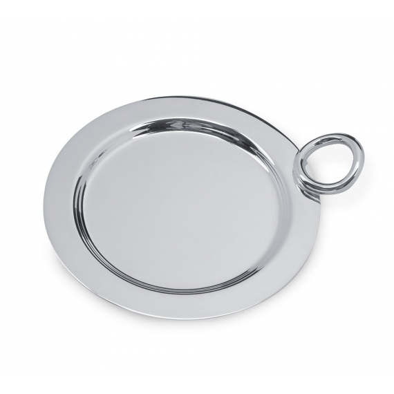 Silver Plated Bottle / Carafe Coaster