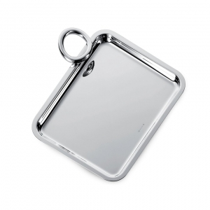Christofle Silver Plated Single-Handle Tray Sliver