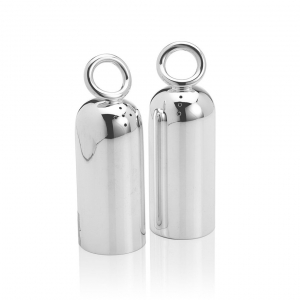 Christofle Silver Plated Salt And Pepper Shakers Sliver