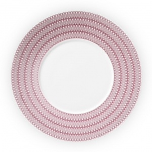Christofle Porcelain Dinner Plate Pink