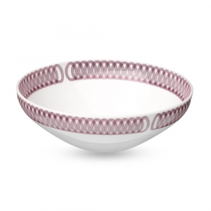 Christofle Porcelain Bowl Pink