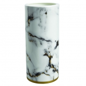 Marble Venice Fog 14 inches Tall Vase