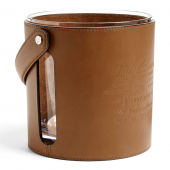 Ralph Lauren Cantwell Leather Ice Bucket