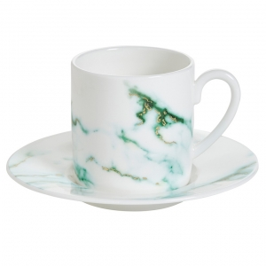 Prouna Espresso Cup and Saucer