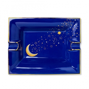 Casacarta Large Ashtray And Change Tray - Luna Blue