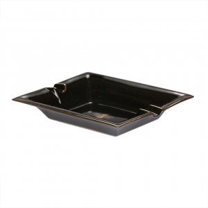 Casacarta Large Ashtray And Change Tray - Black Sun Black