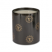 Casacarta Large Candle - Black Sun Black