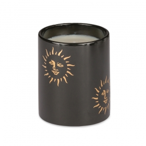 Casacarta Small Candle - Black Sun Black