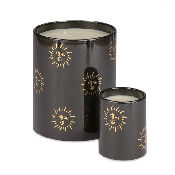 Candle Set - Black Sun