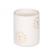 Casacarta Small Candle - White Sun White