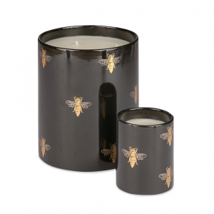 Casacarta Candle Set - Bee Black