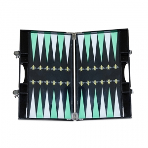 Casacarta Backgammon - Green Bee Black