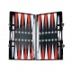 Casacarta Backgammon - Red Bee Black