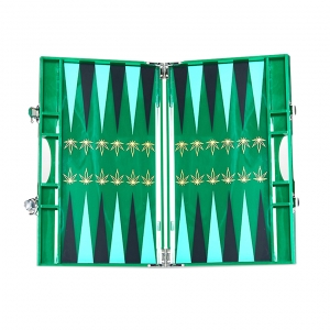 Casacarta Backgammon - Leaf Green
