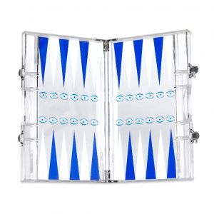 Casacarta Backgammon - Eye Blue