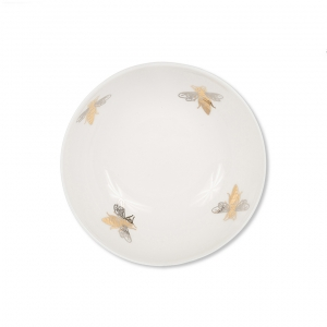 Casacarta Bowl - Bee White
