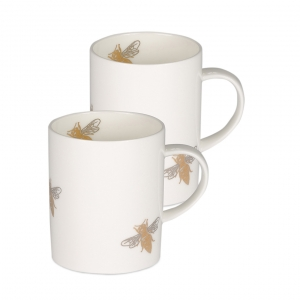 Casacarta Mug Set Of 2 - Bee White