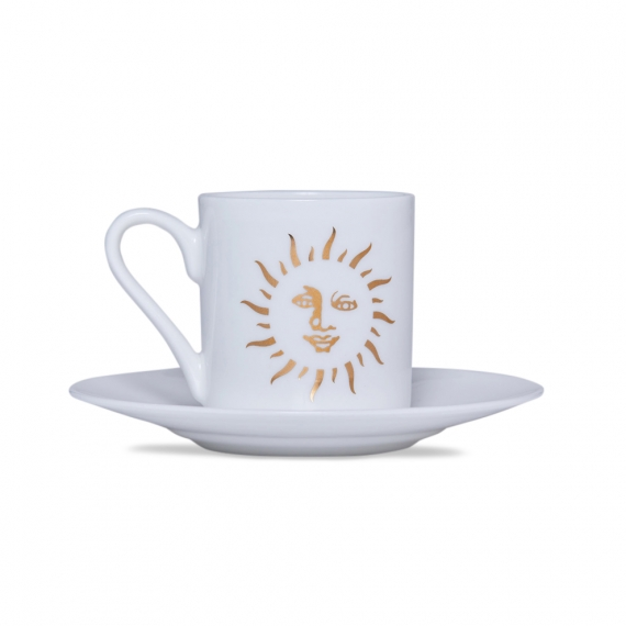Espresso Cup and Saucer - Sun