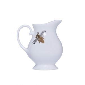 Casacarta Milk Jug - Bee White