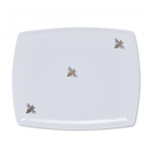 Casacarta Tray - Bee White