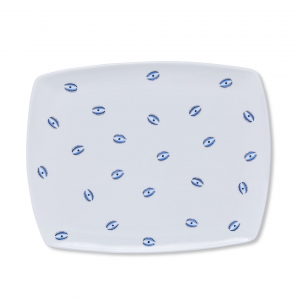 Casacarta Tray - Evil Eye White