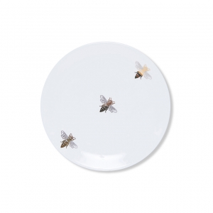 Casacarta Side Plate - Bee White